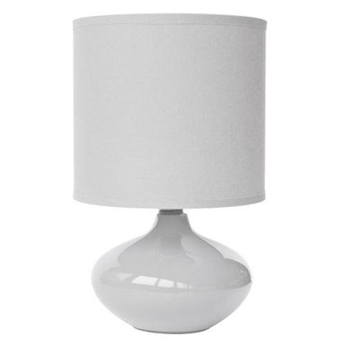 Lampe à poser Seynave 'Alizée' blanc 40 W