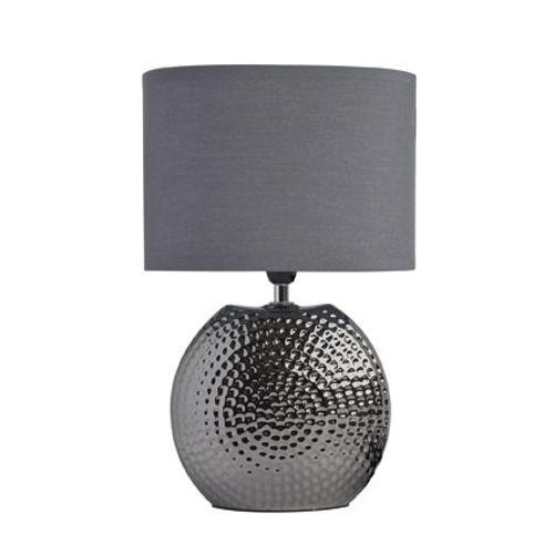 Seynave tafellamp 'Dixon' grijs 40 W