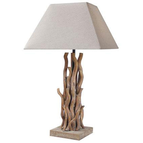 Seynave tafellamp 'Keywest' naturel 40 W