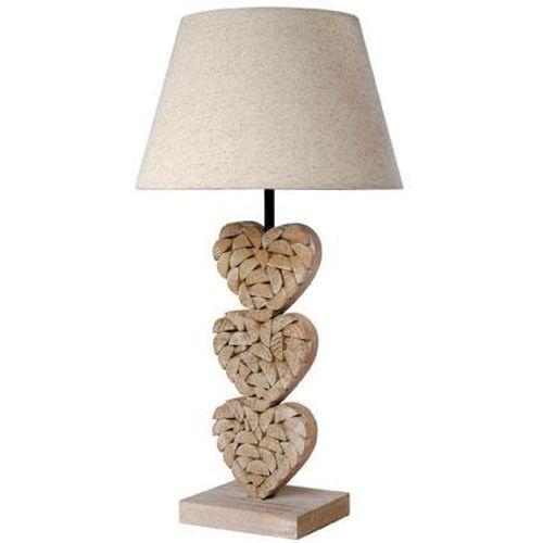 Seynave tafellamp 'Augustine' naturel 40 W