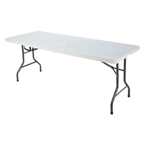 Table pliante Party blanc 180x75