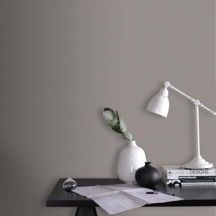 Papier peint intissé DecoMode Basic cotton taupe