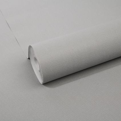 Decomode vliesbehang Basic cotton grijs