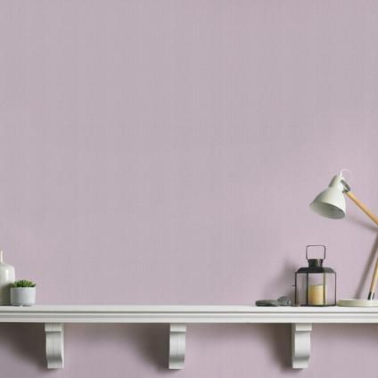 Papier peint intissé Decomode Basic cotton lila