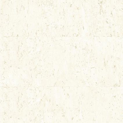 DecoMode vliesbehang Kurk luxe beige