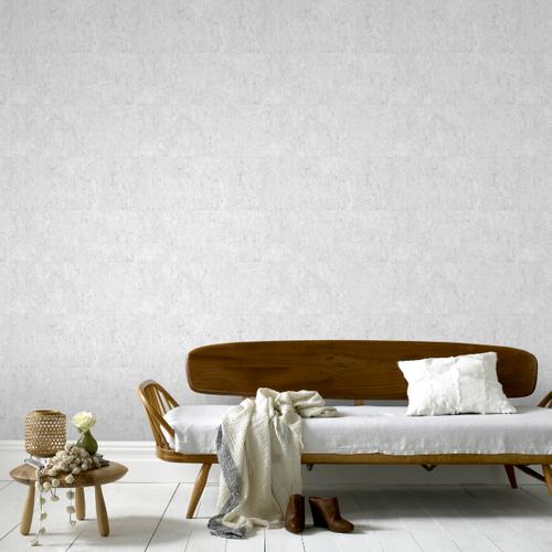 Papier peint intissé Decomode liège luxe gris clair