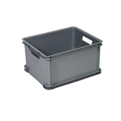 Boîte Curver unibox classique L argent 30L