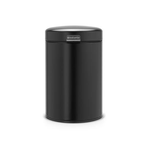 Brabantia wandafvalemmer newIcon 3L mat zwart