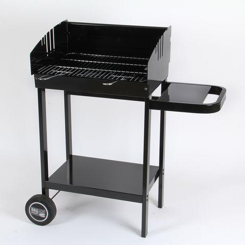Central Park houtskoolbarbecue Austin zwart 47,5x22,5cm