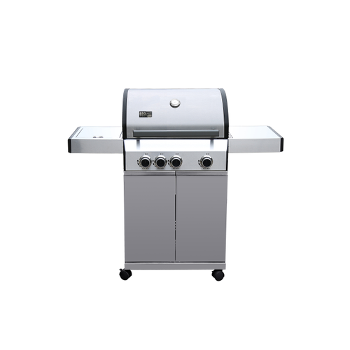 Central Park gasbarbecue Laredo 13,5kW zilver