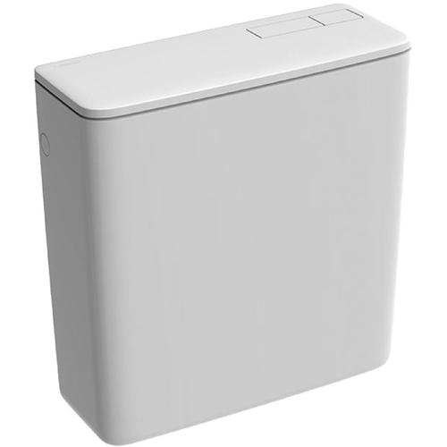 Réservoir de toilette Geberit AP128 2 touches blanc 9L