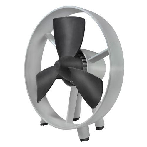 Eurom ventilator tafelmodel Safe Blade 20cm grijs/zwart