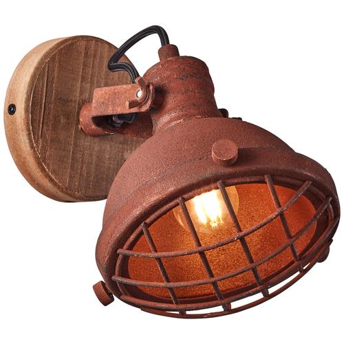 Brilliant wandlamp Mila roest E14