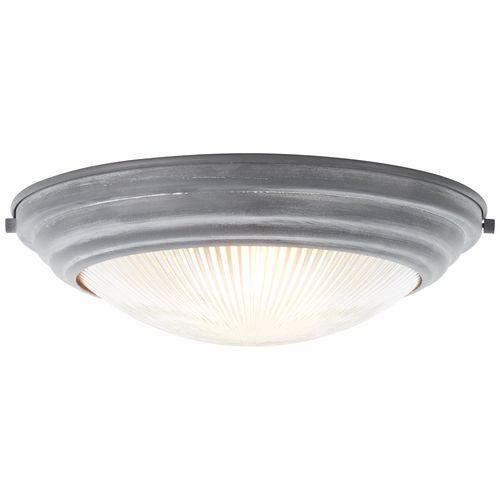 Brilliant plafondlamp Cyclone betongrijs E27