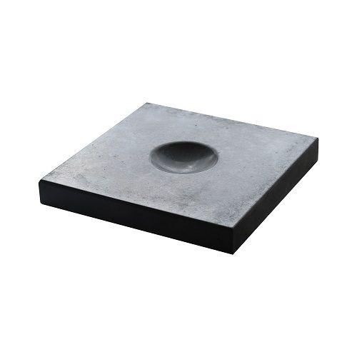 Decor knikkertegel antraciet beton 30x30x4cm