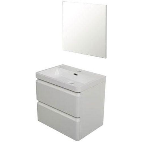 Meuble de salle de bain Aquazuro 'Catania' blanc 60cm