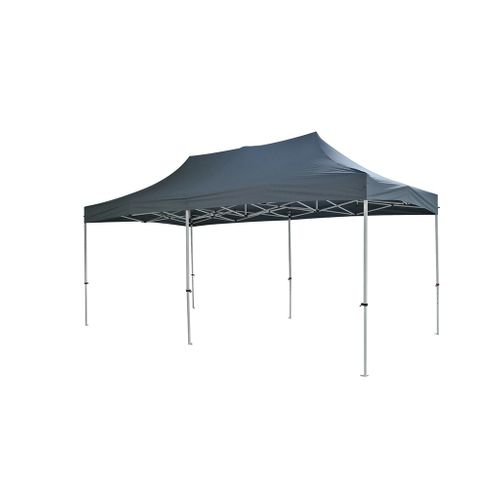 Central Park partytent Quick Up Pro XL antraciet 2,95x5,85m