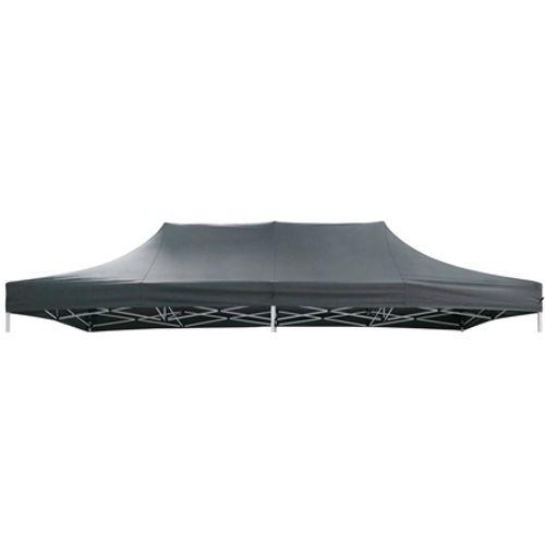 Toilie pour tonnelle Central Park 'Quick Up Pro XL' gris foncé 3x6m