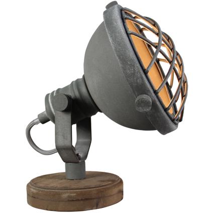 Lampe de table Brilliant 'Mila' gris 25W