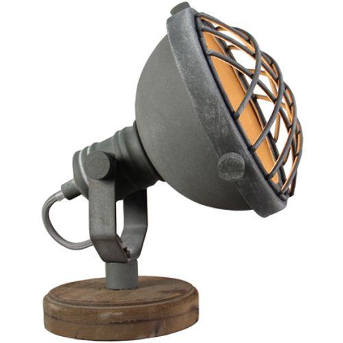 Brilliant tafellamp 'Mila' grijs 25W