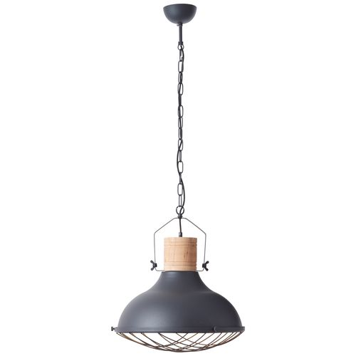 Suspension Brilliant 'Emma' noir 60W