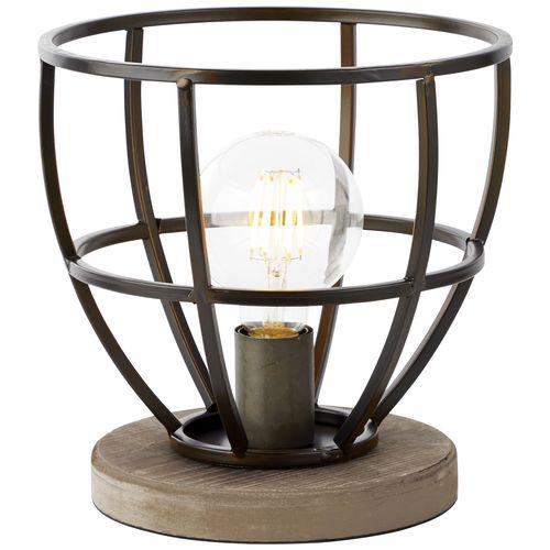 Brilliant tafellamp 'Matrix' zwart 60W
