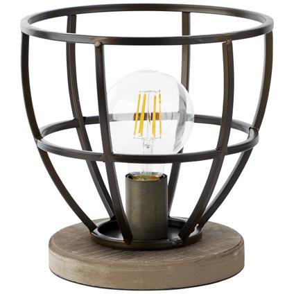 Lampe de table Brilliant 'Matrix' noir 60W