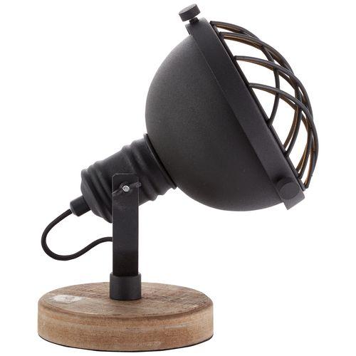 Brilliant tafellamp 'Mila' zwart 25W