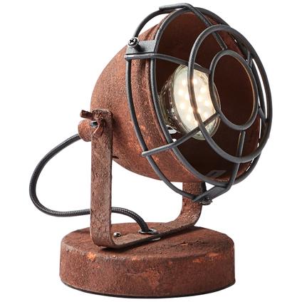 Brilliant Tafellamp Carmen Roest 28w