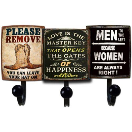 Best Home Products wandkapstok met 3 haken