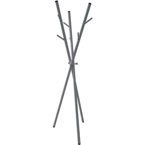 Best Home Products staande kapstok grijs 9 haken
