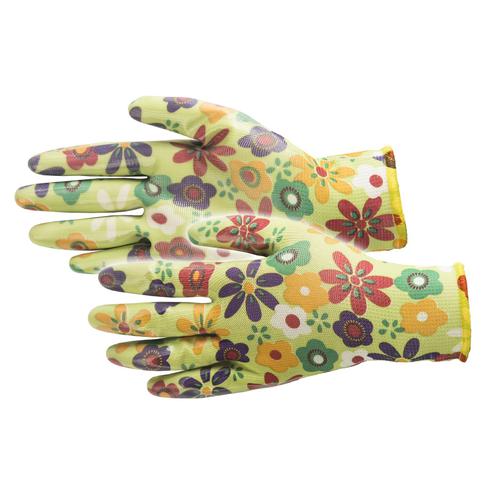 Busters Flower Grip handschoen groen maat 8