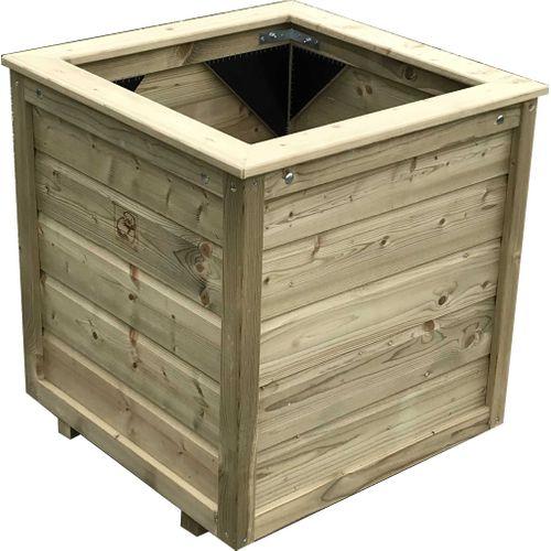 Lutrabox plantenbak 100x100x95cm