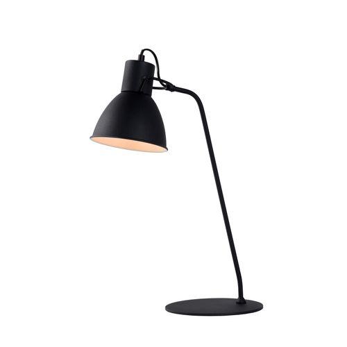 Lucide bureaulamp Shadi zwart E14