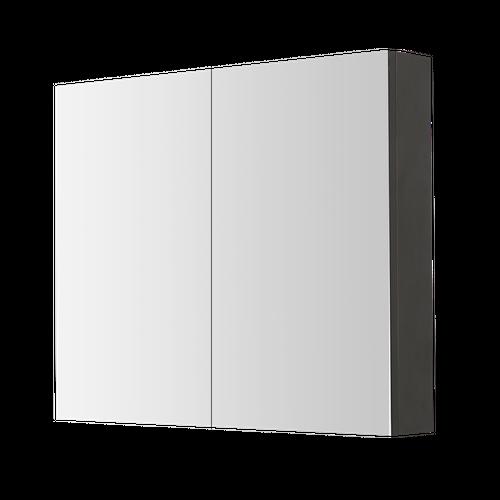 Armoire de toilette Aquazuro Arezzo gris foncé 80cm