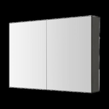 Armoire de toilette Aquazuro Arezzo gris foncé 100cm