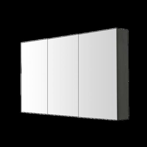 Armoire de toilette Aquazuro Arezzo gris foncé 120cm