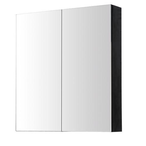 Aquazuro spiegelkast Arezzo 60cm zwart mat
