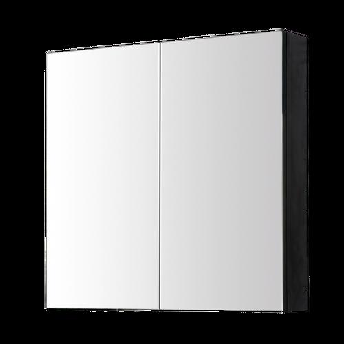 Aquazuro spiegelkast Arezzo 80cm zwart mat