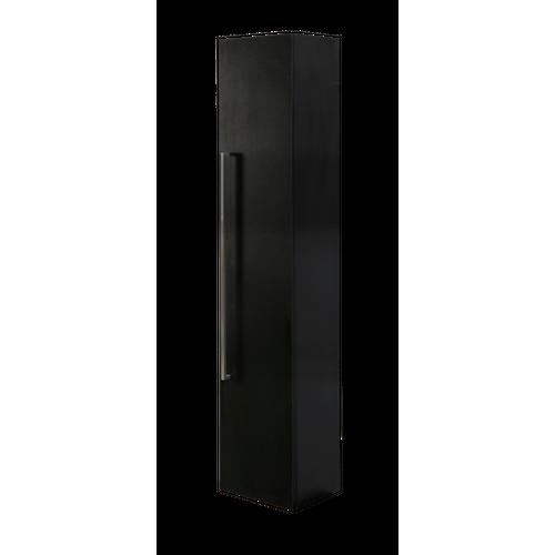 Aquazuro kolomkast Arezzo 150cm zwart mat