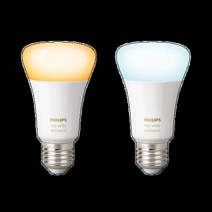 Philips Hue standaardlamp White Ambiance E27 - 2 stuks