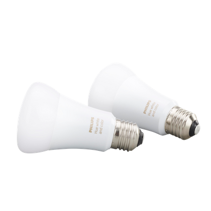 Philips Hue standaardlamp White and Color Ambiance E27 - 2 stuks