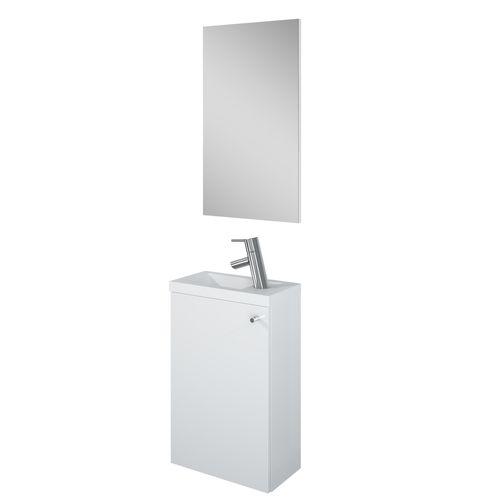 Pack lave-mains AquaVive Zena blanc 40cm