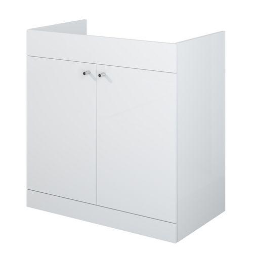 Meuble sous-lavabo AquaVive Zena blanc 80cm