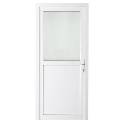 Bloc-porte extérieur pvc Solid 'Esterno E01' gauche 98 cm