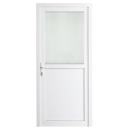 Bloc-porte extérieur pvc Solid 'Esterno E01' droite 98 cm