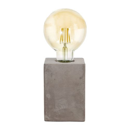 EGLO tafellamp Prestwick grijs E27