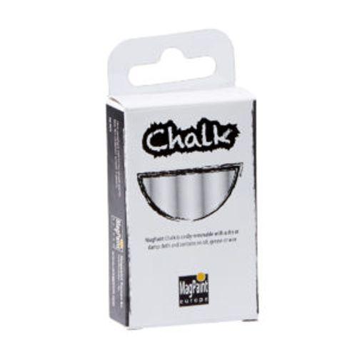 Pack craie blanche Magpaint Chalk 10pcs