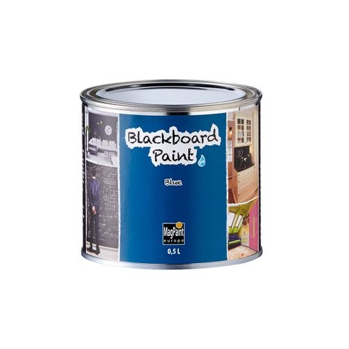 Peinture tableau noir Magpaint BlackboardPaint bleu 500ml