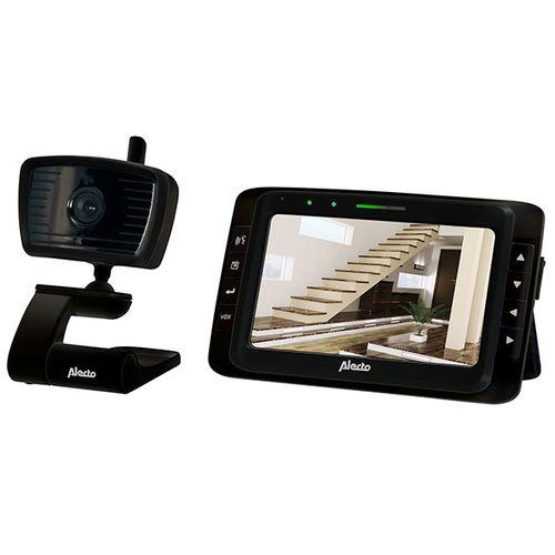 "Alecto beveiligingscamera + 5,0"" monitor zwart"